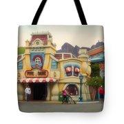 Five And Dime Disneyland Toontown Signage Tote Bag