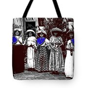 Five Female Revolutionary Soldiers Unknown Mexico Location Or Date-2014 Tote Bag