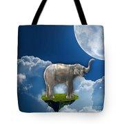 Flight Of The Elephant Tote Bag