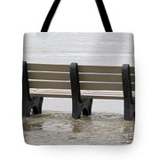 Flooded Feet  Tote Bag