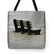Flooded Seat  Tote Bag