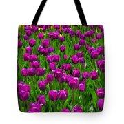 Floral Art Vi Tote Bag