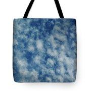 Florida Clouds Above Tote Bag