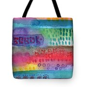 Flower Garden Tote Bag by Linda Woods