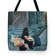 Flower Lady Of The Pantheon Tote Bag