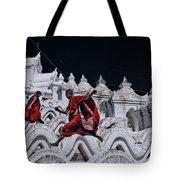 Flying Monks 2 Tote Bag