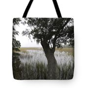 Fog On The Water Tote Bag