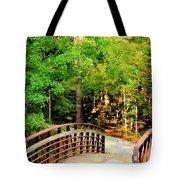Folsom Bridge At Furnace Creek Tote Bag