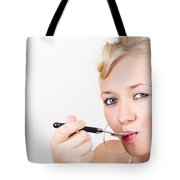 Food Connoisseur Eating Fine Dining Cuisine Tote Bag