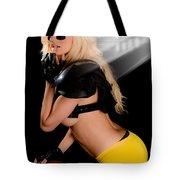 Football Girl Tote Bag