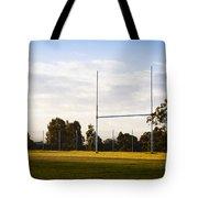 Football Goals Tote Bag