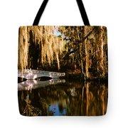 Footbridge Over Swamp, Magnolia Tote Bag