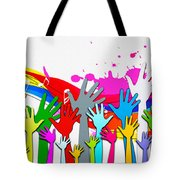 1 For All - All For 1 Tote Bag