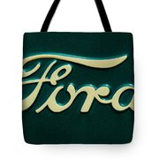 Ford Emblem Tote Bag