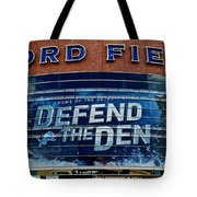 Ford Field Tote Bag