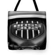 Ford Mustang Boss 302 Engine Tote Bag
