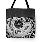 Ford Thunderbird Wheel Emblem Tote Bag