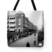 Ford Work Shift Change - Detroit 1916 Tote Bag