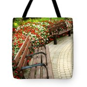 Formal Garden Tote Bag