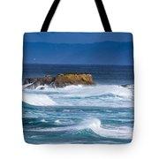Fort Bragg Coastline Tote Bag