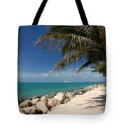 Fort Zachary Taylor Beach Tote Bag