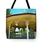 Fountain For Doing Ablutions In Konya-turkey  Tote Bag