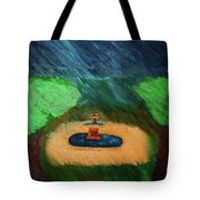 Fountain In The Midst Tote Bag