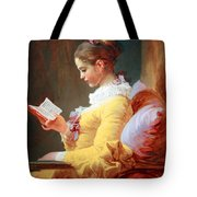Fragonard's Young Girl Reading Tote Bag