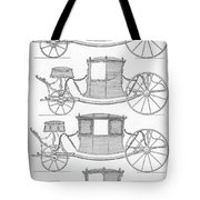 France Carriages, C1740 Tote Bag