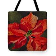 Franci's Poinsettia Tote Bag