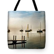 Frankfort Morning Mist Tote Bag
