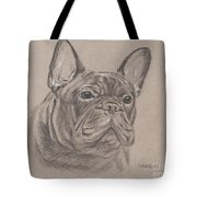 French Bulldog - Snickers Tote Bag