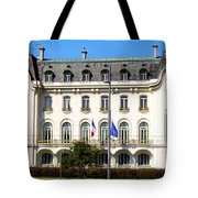 French Embassy In Vienna Tote Bag