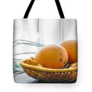 Fresh Eggs Just Laid Tote Bag