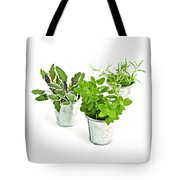 Fresh Herbs Tote Bag