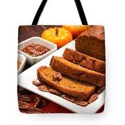 Fresh Pumpkin Bread Tote Bag