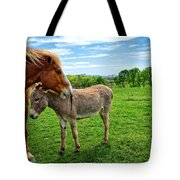 Friends On The Farm Tote Bag
