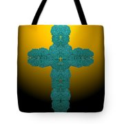 Frisbee Salt Cross 7 Tote Bag