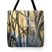 Frozen Raindrops Impasto Tote Bag