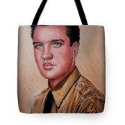 G I Elvis  Tote Bag