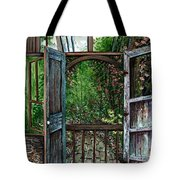 Garden Backyard Tote Bag