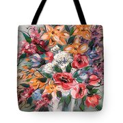 Garden Flowers Tote Bag