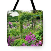 Garden Of Claude Monets House, Giverny Tote Bag