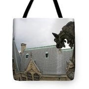Gargoyles On Roof Of Biltmore Estate Tote Bag