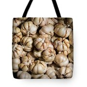 Garlic In A Basket. Tote Bag