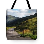 Gates. Rest And Be Thankful. Scotland Tote Bag