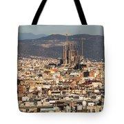 Gaudi La Sagrada Familia Barcelona  Tote Bag