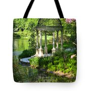 Gazebo By Lake Tote Bag