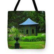 Gazebo In The Garden Tote Bag