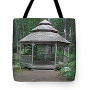Gazebo In The Woods Tote Bag
